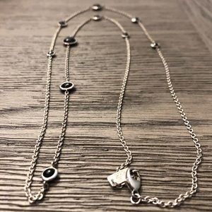 Ippolita Black and Silver Long Necklace